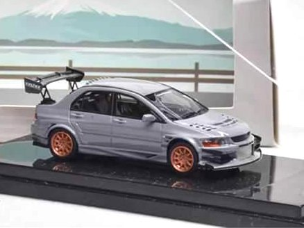 Error 404 1:64 Lancer Evolution EVO Cinza
