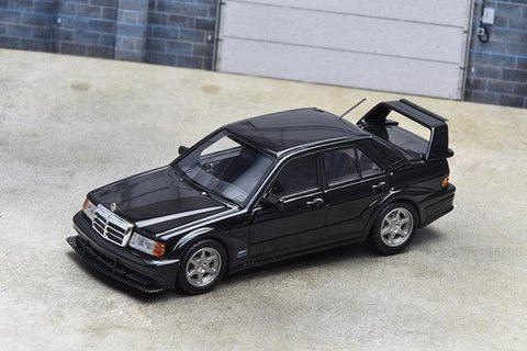 Error 404 1:64 Mercedes-Benz 190E Evolution 2 - Preto