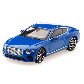 PRÉ VENDA Mini GT 1:64 Bentley Continental GT 2018 Sequin Blue