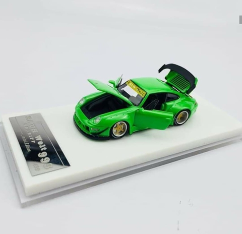 SINAL 30% HPI 1:64 RWB 993 Pure Jade - Open Parts