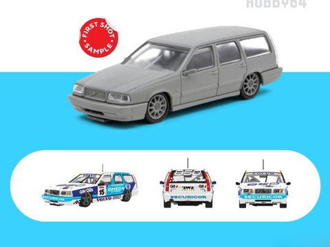 SINAL 30% Tarmac 1:64 Volvo 850 Estate Racing