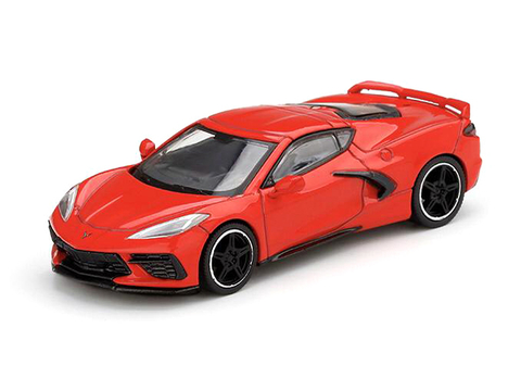 SINAL 30% Mini GT 1:64 Chevrolet Corvette Stingray 2020 Torch Red