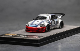 PGM 1:64 Porsche 964 RWB Martini Regular