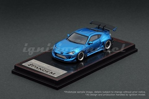IGNITION MODEL 1:64 Pandem Toyota 86 V3 Blue Metallic