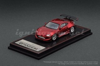 IGNITION MODEL 1:64 Pandem Toyota 86 V3 Red Metallic
