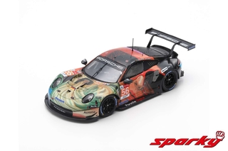 PRÉ VENDA Sparky 1:64 Porsche 911 RSR No.56 Team Project 1 Winner LMGTE Am class 24H Le Mans 2019