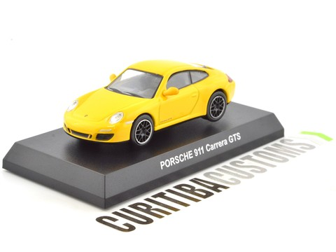 Kyosho 1:64 Porsche 911 Carrera GTS - Yellow