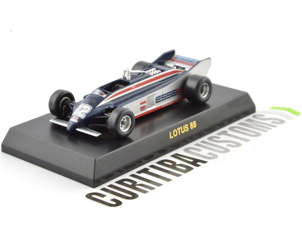Kyosho 1:64 Lotus F1 88 #12 N. Mansell (1981)