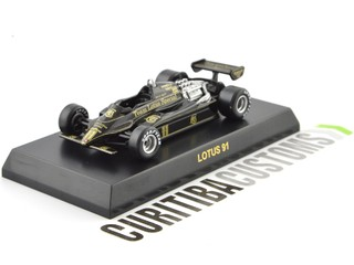 Kyosho 1:64 Lotus F1 91 #11 E. Angelis (1982) on internet
