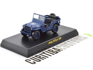 Kyosho 1:64 USA Willys MB - Blue
