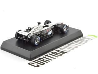 Kyosho 1:64 McLaren F1 MP4-17D #6 K. Raikkonen (2003) - Curitiba Customs