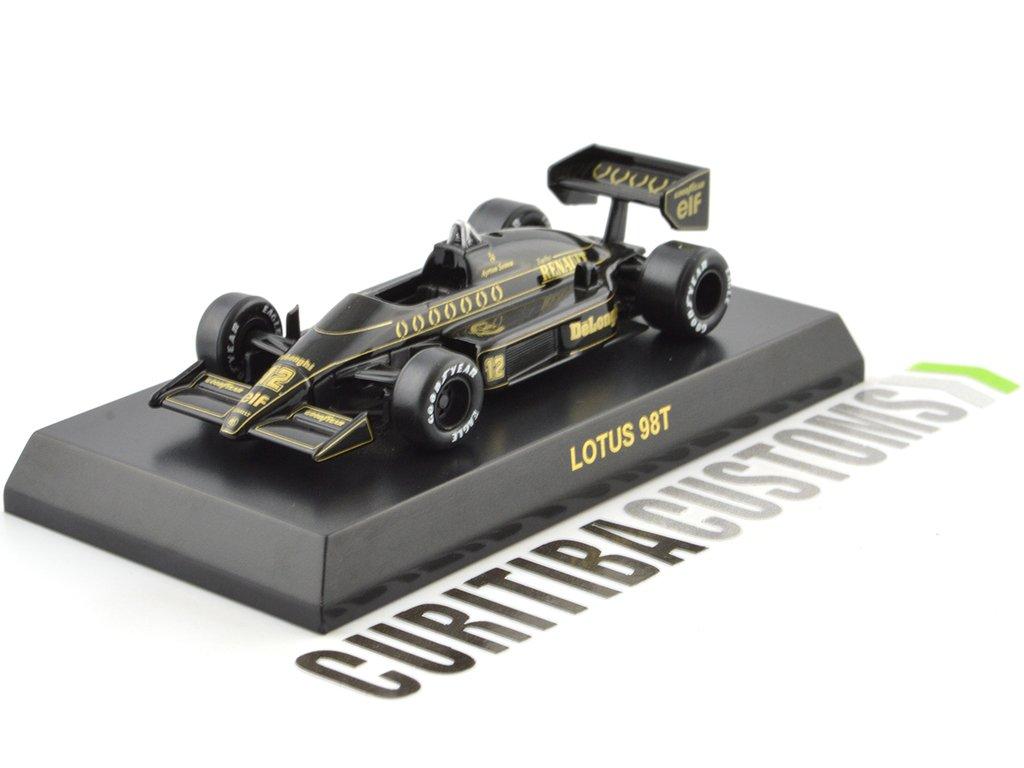 Kyosho 1:64 Lotus F1 98T #12 A. Senna (1986)