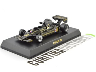 Kyosho 1:64 Lotus F1 78 #6 R. Peterson (1977)