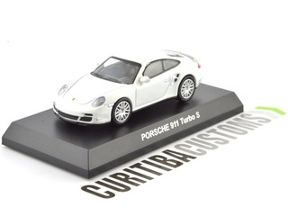 Kyosho 1:64 Porsche 911 Turbo S - White