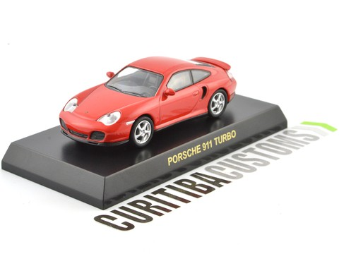 Kyosho 1:64 Porsche 911 Turbo - Red - buy online