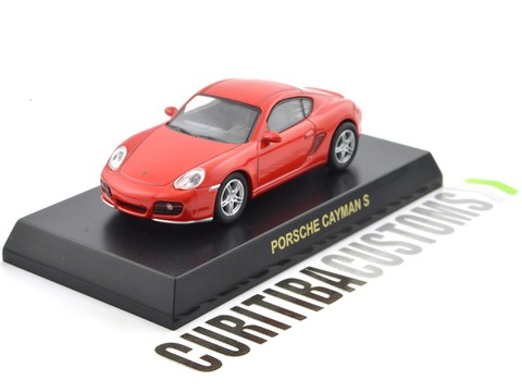 Kyosho 1:64 Porsche Cayman S - Red - buy online