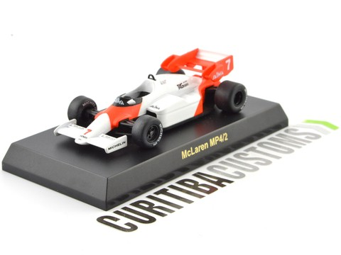 Kyosho 1:64 McLaren F1 MP4/2 #7 A. Prost (1984)