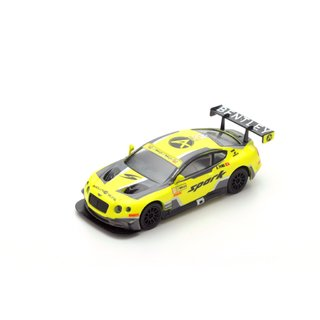 PRÉ VENDA Sparky 1:64 BENTLEY Continental GT3 N°10 5ème Macau GP FIA GT World Cup 2016
