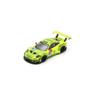PRÉ VENDA Sparky 1:64 Porsche 911 GT3 R No.911 Manthey Racing Pole Position 24H Nürburgring 2018