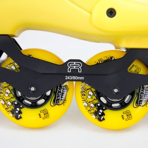 Patins FR1 80 Yellow - rodas 80mm