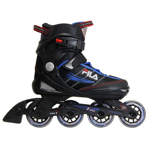 Patins Iniciante J-One Boy Preto/Azul