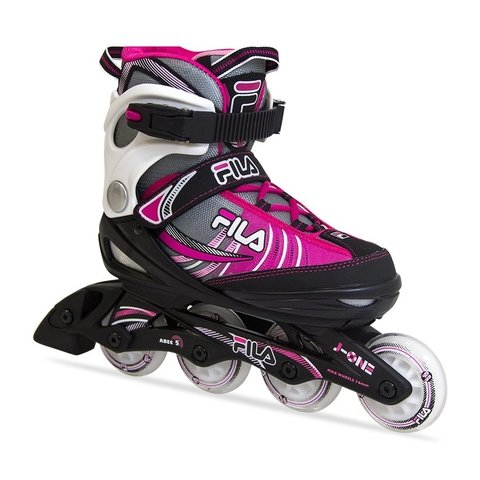 Patins Iniciante J-One Girl Rosa