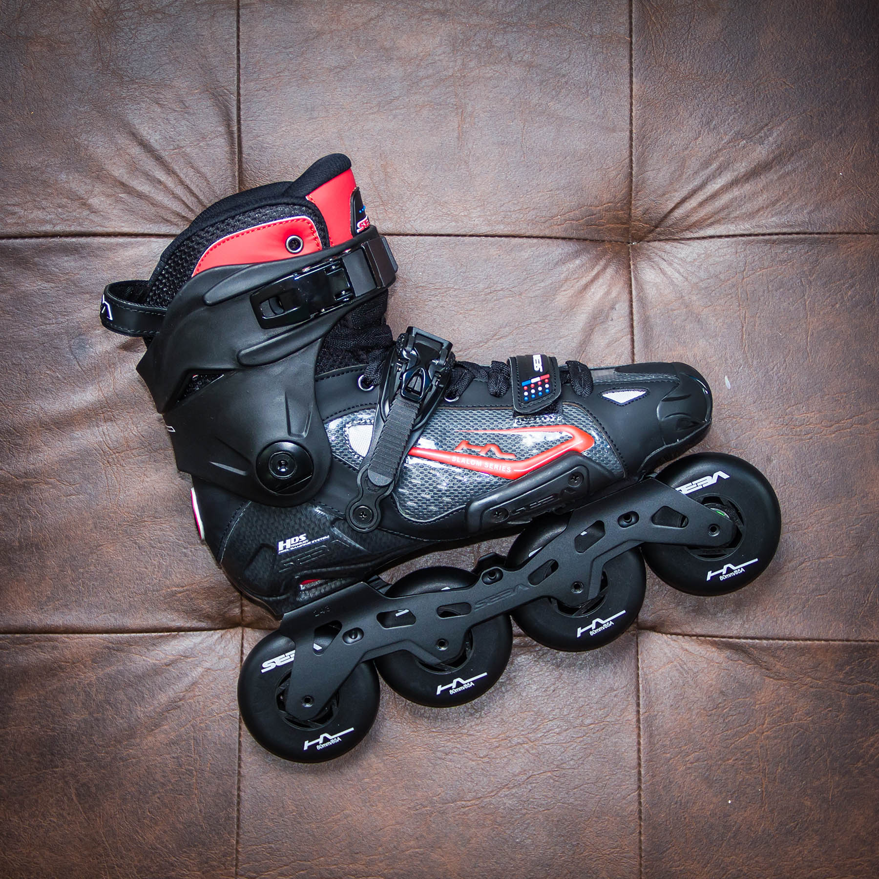 Patins Profissional Inline modelo Seba High Light V2 Le 2019 para Freestyle Slalom
