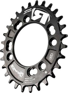 Monoplato Oval Mtb Rotor Q Rings Qx1 36 Dtes 76 Bcd 4 Tor - tienda online