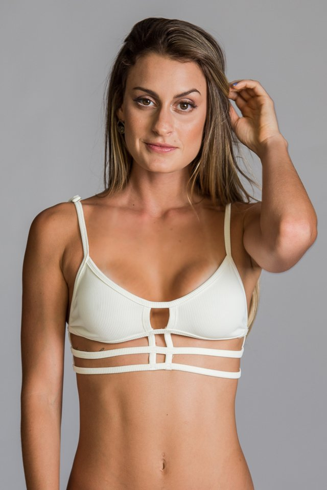 Top Strappy Branco