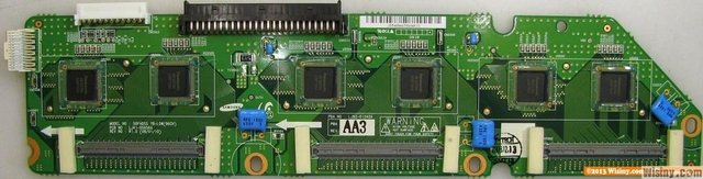 PLACA Y-BUFFER INFERIOR PL50A610