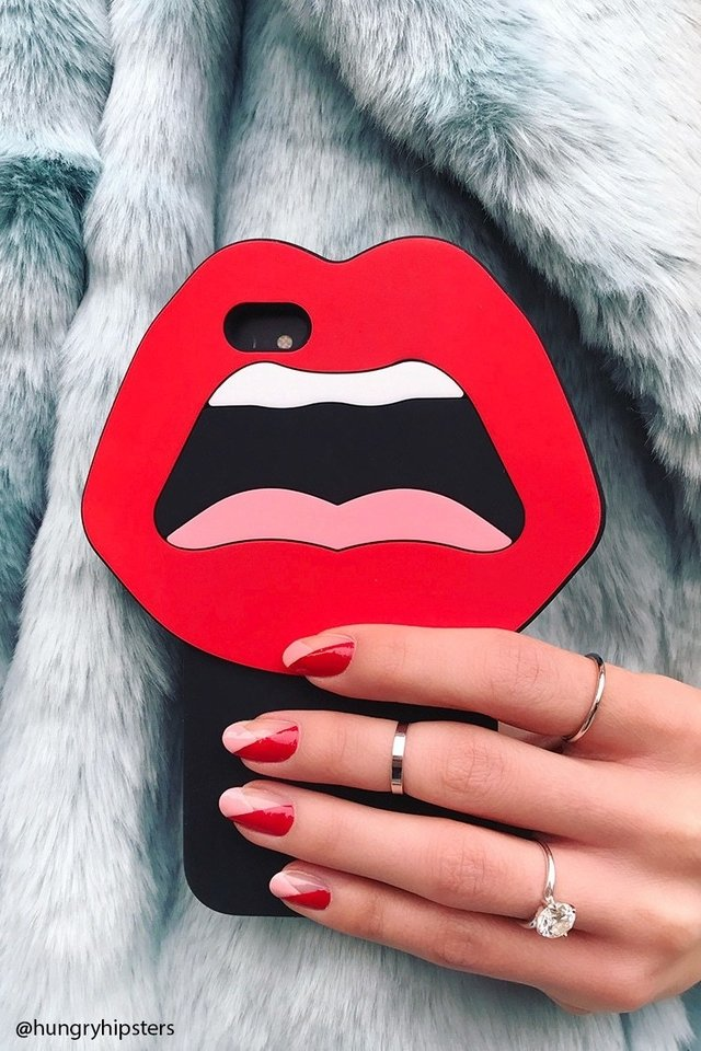 FOREVER 21 - LIP CASE FOR IPHONE 6/6S
