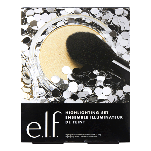 ELF - HIGHLIGHTING SET BROCHA + ILUMINADOR