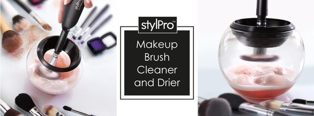 StylPro Makeup Brush Cleaner and Dryer - LIMPIA Y SECA BROCHAS AL INSTANTE - Vanity Shop