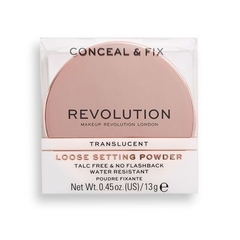 MAKEUP REVOLUTION - Conceal & Fix Setting Powder Translucent