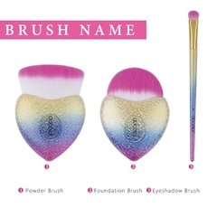 DOCOLOR - CUPID 3 Pieces Makeup Brush Fantasy Set - tienda online