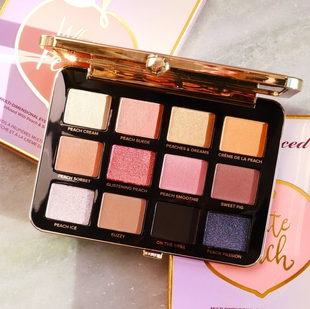 TOO FACED- WHITE PEACH MULTI-DIMENSIONAL EYE SHADOW PALETTE - comprar online
