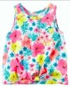 Carters - Musculosas Multi Flower Summer Talles 2-4-6