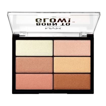 NYX - BORN TO GLOW HIGHLIGHTING PALETTE - comprar online
