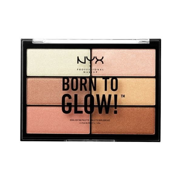 NYX - BORN TO GLOW HIGHLIGHTING PALETTE - Vanity Shop