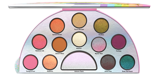 TOO FACED - LIFE'S A FESTIVAL EYESHADOW PALETTE - PEACE, LOVE & UNICORNS en internet