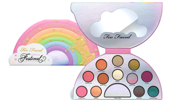 TOO FACED - LIFE'S A FESTIVAL EYESHADOW PALETTE - PEACE, LOVE & UNICORNS - comprar online