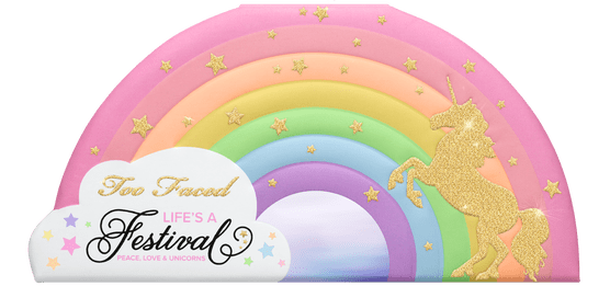 TOO FACED - LIFE'S A FESTIVAL EYESHADOW PALETTE - PEACE, LOVE & UNICORNS - Vanity Shop
