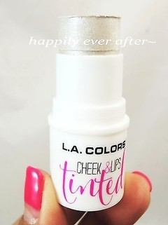 LA COLORS CHEEK & LIPS TINTED - HIGHLIGHTER STICK