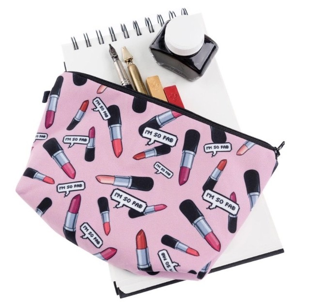 MAKE UP BAG - LIPSTICK I'M SO FAB - Vanity Shop