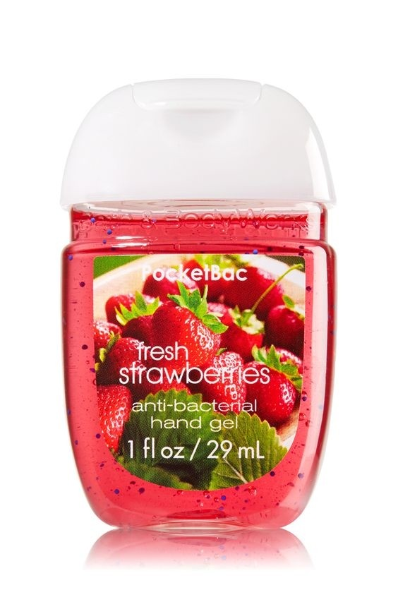 BATH & BODY WORKS - ANTIBACTERIAL HAND GEL POCKETBAC - EXQUISITAS FRAGANCIAS - tienda online