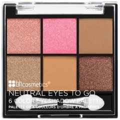 BH COSMETICS - NEUTRAL EYES TO GO 6 COLOR EYESHADOW PALETTE