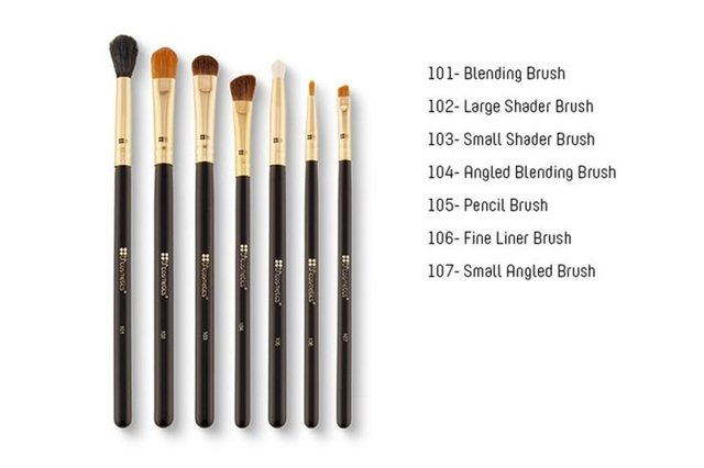 BH COSMETICS Eye Essential - 7 Piece Brush Set Pinceles Ojos - comprar online