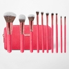 BH COSMETICS - Bombshell Beauty 10 Piece Brush Set with Bag