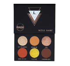 LAURA LEE - BOSS BABE PRESSED PIGMENT PALETTE .