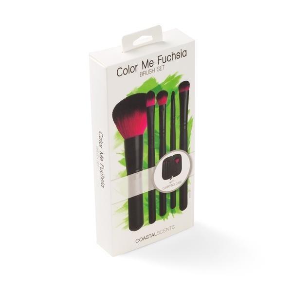 COASTAL SCENTS - Color Me Fuchsia Brush Set